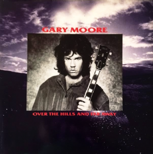 "Gary Moore ‎- Over The Hills And Far Away (12"") (EX/EX-)"